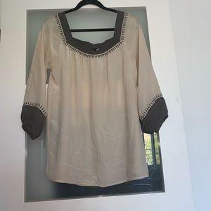 Club Monaco pure silk blouse